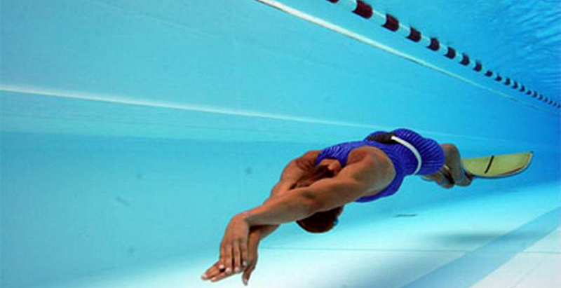 NSU student became the winner of the Russian Cup in underwater sports