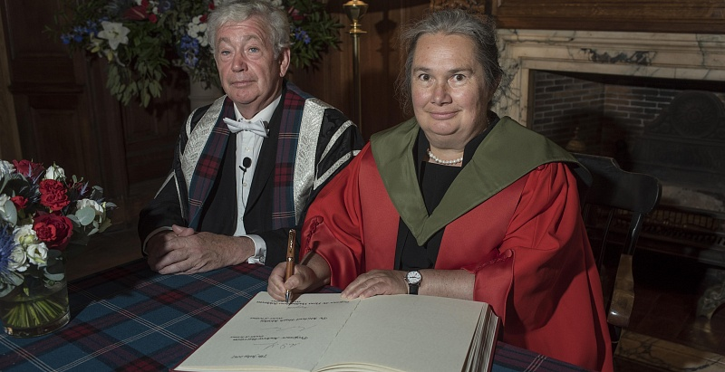 NSU Professor Receives «Honorary Doctor of Edinburgh University» Degree