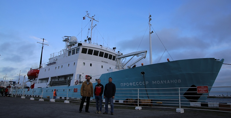 NSU Geologists went to the Arctic aboard the Floating University