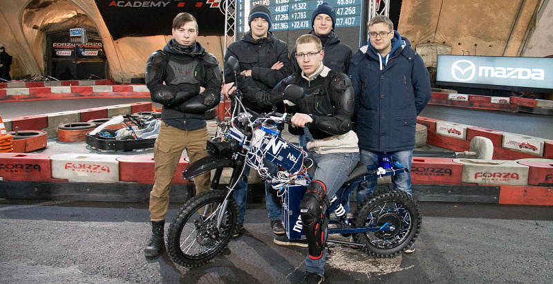 Hackspace NSU Project Wins All-Russian Electric Motorcycles Competition